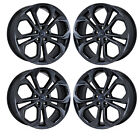 20 FORD TAURUS SHO BLACK CHROME WHEELS RIMS FACTORY OEM SET 4 3926 EXCHANGE