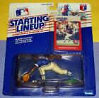 1988 SHAWON DUNSTON Chicago Cubs Rookie - low s/h - Kenner Starting Lineup slu