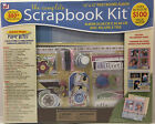 NEW The Complete Scrapbook Kit 12x12 Post Bound Album and Embellishments SEALED