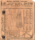 1908 Lovely Intricate Woman's Wrap Dress Bust 36