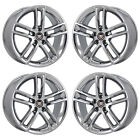 19x8 19x9 CADILLAC ATS COUPE PVD CHROME WHEELS RIM FACTORY OEM SET 4742 4744