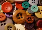 105 BUTTONS Lot for Sewing Crafts Scrapbooking Jewelry RANDOMLY CHOSEN