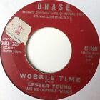 LESTER YOUNG CALIFORNIA PLAYBOYS wobble time youll miss me RB 45 on CHASE