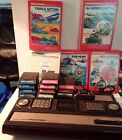 VINTAGE~ Mattel Electronics Intellivision ~2609 Console & Games~UNTESTED~AS-IS