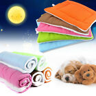 Pet Bed Cushion Mat Pad Dog Cat Kennel Crate Warm Cozy Soft Blanket M L XL US