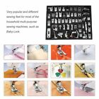 52 pcs Domestic Household Electric Sewing Machine Presser Foot Feet Kit F5