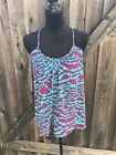 Forever21 Womens Animal Print Tank Top Size Small