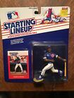 1988 Starting Lineup Andre Dawson #8 Chicago Cubs Blue Jersey