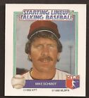 RARE - Mike Schmidt ODDBALL CARD - 1988 STARTING LINEUP TALKING BASEBALL #19