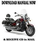 2004-10 Kawasaki Vulcan VN2000 & Classic factory repair shop manuals on CD