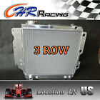 3row aluminum radiator for Jeep Wrangler YJ TJ 24L 25L L4 40L 42L L6 87 06