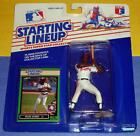 1989 DION JAMES Atlanta Braves Rookie #36 - low s/h - sole Starting Lineup