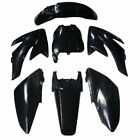 CRF70 PLASTIC + 3M STICKERS Suits CRF 70 Fairing 140 150 160 200 250CC Dirt Bike