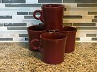 Fiesta Fiestaware Homer Laughlin Co Cinnabar Tom & Jerry Coffee Mug Cup