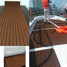 35x94 6MM Dark Brown Yacht EVA Boat Floor Mat Teak Decking Carpet Sheet Pad