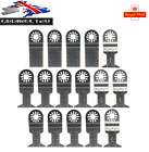 16pc Oscillating Multi tool Saw Blades for Fein Multi Master Makita Bosch NEW UK