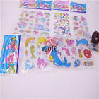 3D Fish and dolphins Scrapbooking Crafts PVC Stickers lot kids party gifts 5 PCS