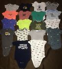 Baby Boy Clothes Lot Onesies One Piece Size 3 Months 3 6 Months Gerber Carters