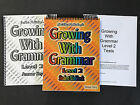 GROWING WITH GRAMMAR Level 2 NEW COMPLETE SET Student Workbook