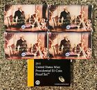 2007 2011 US MINT PRESIDENTIAL 1 COIN PROOF SET ORIGINAL BOXES AND COAs