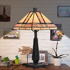 Tiffany Style Table Lamp Home Office Mission Design Desk