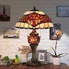 Tiffany Style Table Lamp Victorian Desk Lamp Stained Glass Home Lamp