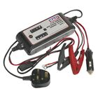 Sealey SMC03 6/12V Compact Auto Digital Battery Charger - 9-Cycle