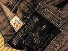 Mens True Religion 34 29 30 GREY JEANS Vintage Made in USA COREY BIG T SEAT 34
