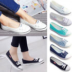 New Womens Sneakers Running Breathable Leisure Ladies Flats Casual Canvas Shoes