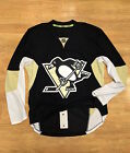 $300 PITTSBURGH PENGUINS AUTHENTIC NHL REEBOK EDGE HOCKEY JERSEY FIGHT STRAP 52