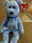 TY Beanie Baby Bear - 1999 Holiday Teddy - RARE - RETIRED - with Tag errors