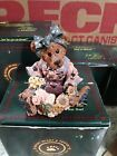 1995 Boyds Bears and Friends Resin Figurine Justina The Message Bearer # 2273