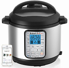 NEW Instant Pot Smart Bluetooth Multi-Use Programmable Pressure Cooker, 6 Quart