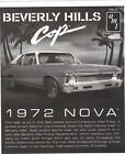 1972 NOVA SS 1/25 beverly hills cop movie car instruction sheet eddie murphy car