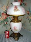 c 1897 Early Consolidated GWTW Parlor Banquet Lamp Cherubs  Angels Antique
