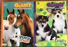 Coloring  Activity Giant Books Set Dog  Horse Bendon Tear  Share Pages