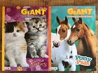 Coloring  Activity Giant Books Set Horse  Cat Bendon Tear  Share Pages