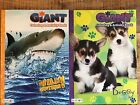 Coloring  Activity Giant Books Set Dog  Shark Bendon Tear  Share Pages