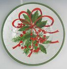 222 Fifth (PTS) China HOLIDAY FESTIVITIES Red Berries Salad Plate(s) EX