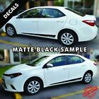 Toyota Corolla Pre-cut Side Stripes Rocker Panel Decals Vinyl 2015 To 2017 44