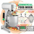 1 Hp 20 Qt Commercial Dough Food Mixer Gear Driven 3 Speed Stand Stainless Steel