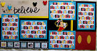 DISNEY BELIEVE TWO 12X12 Premade Scrapbook Pages