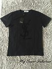 Yves Saint Laurent Basic T shirt with Iconic YSL Logo in Dark 2017 55 OFF SALE
