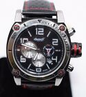 Ingersoll Men Wrist Watch Bison No. 8 Automatic Chronograph IN2806BK