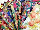 12X12 Scrapbook Paper Lot 20 Sheets All About The Floral Prints Card Making L15