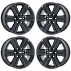 18 CHEVROLET TRAVERSE BLACK CHROME WHEELS RIMS FACTORY OEM SET 4 5572 EXCHANGE