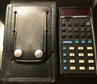 Hewlett Packard HP 35 Calculator HP 35  with Leather Case Vintage Scientific