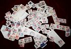 Lot of 150+ Vintage Assorted USA Flag Stamps 1960s 1990s Capitol White House