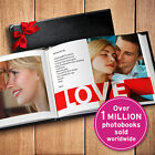 Custom 11 x 85 Leather Cover 100 Page Photo Book Personalized Memory Album