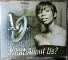 Brandy  What About Us CD